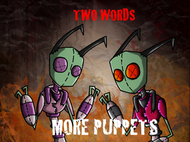 two words more puppets by exileinvadercat