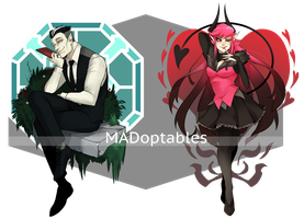 [AT] MADoptables by skele-tea