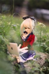Blogging outdoors for inspiration by kyokousagi13