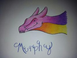 Murphy the Bubble Dragon by ICreateWolf13