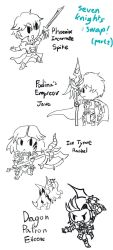Sevenknights Doodles : Swap! Part 2 by LoveCartoonGame