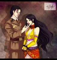 COMMISH_Dragunov_and_Zafina by Warrior-of-Ruin