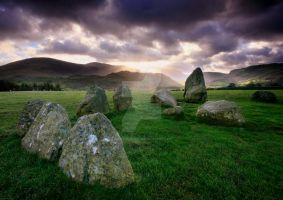 Ancient Stones. Castlerigg by ArwensGrace