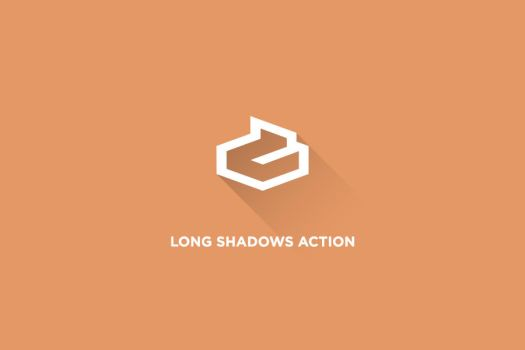 Long Shadow Photoshop Action by Dlacrem