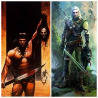 Conan Of Cimmeria vs Geralt Of Rivia by ShamanThe94th