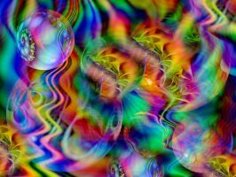 My world of rainbow colours by Thelma1