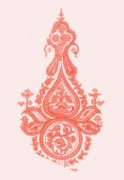 stand up blushed paisley by petusse