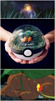 Charmander the stray Poke'mon by TheVintageRealm
