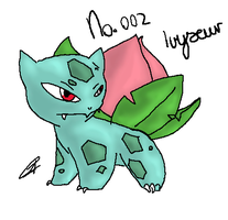 No. 002 Ivysaur by AbyssinChaos