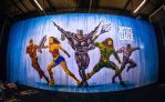 Ben Heine Art - Justice League - Warner Bros Belgi by BenHeine