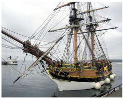 A Pirate Ship by Stillwater