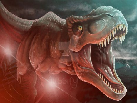 Jurassic World Rexy by aussify