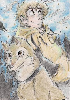 Wolf's Rain - That Easy-Going Wolf by Hukkis