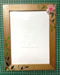 Ay, I recycled an old photo frame. by neonpridelight