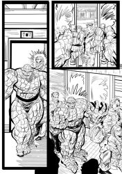 Fantastic Four Sequential Sample artwork page 4 by brianrobinson