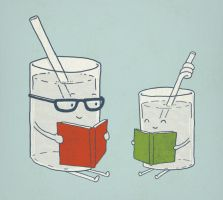 Reading Glasses by murraymullet