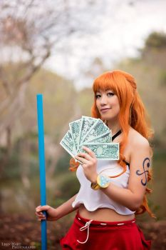 Nami with Beri Mink Arc - One Piece Cosplay by firecloak