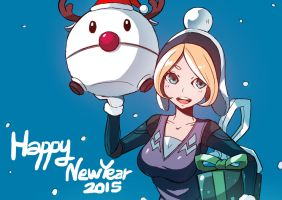 happy new year 2015 by LataeDelan