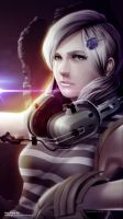 Sunny Emmerich from Metal Gear Rising by dylanliwanag