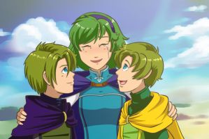 FE: Nino's AU Reunion by Card-Queen