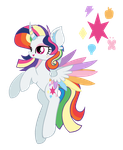 Contest Entry - Mane 6 Fusion by Cheschire-Kaat