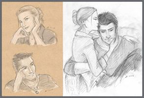 Sketchavember 2011 : Uncharted by anla