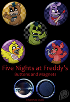 Five Nights at Freddy's Set by VickyViolet