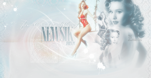 Kristen Bell layout by inconditionally