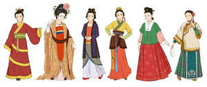 Women's Chinese Clothes by Glimja