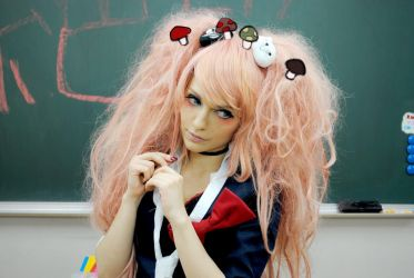 Enoshima Junko Mushrooms by Eyes-0n-Me