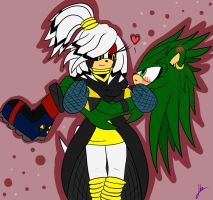 cherry zee and rex the porcupine by captainkayla56