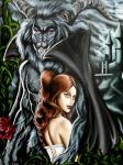 Beauty and the beast by MarjorieCarmona