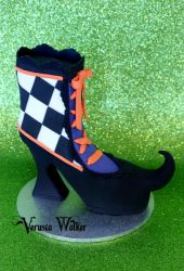 Mini Cake Witch shoe by Verusca