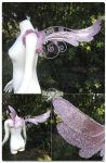 Rose Dove Wings by Firefly-Path