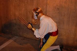 vega costume 2 mask claw back. by Jackov