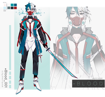 [CLOSED] +Blood CS | 001 | Auction by Black-Quose