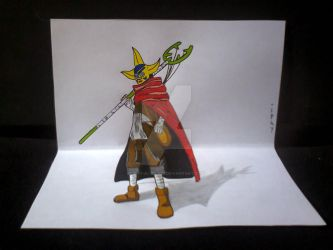 Sogeking 3D Drawing by Iphy-Alzelvin