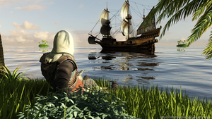 Assassin's creed 4 wallpaper #3 by BarabanRUS