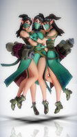 MMD Illusionist Ying by Xenosnake