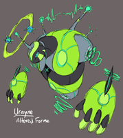 PKMN Uranium: Urayne Altered Form Concept by Midnitez-REMIX