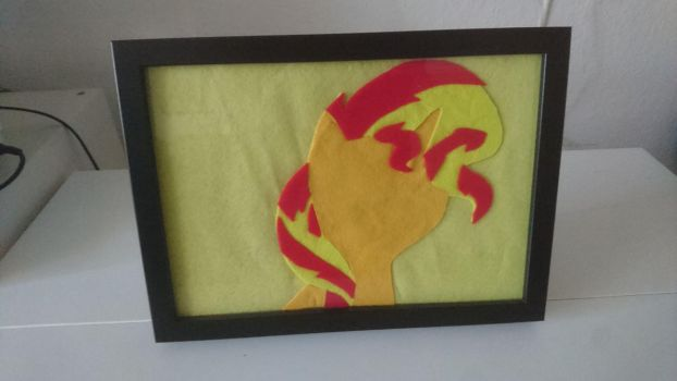 Picture Frame: Sunset Shimmer by kleinespika