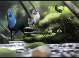 The Forest Stream by DaffoDille