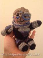 ME3 inspired amigurumi - Garrus by ninjapoupon