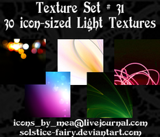 Texture Set 31 - Lights by solstice-fairy