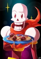 Pasta Time - Papyrus (Undertale) by AngelMJ