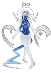 Commissionnnn Misericordia- gaia by avitalspark