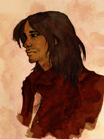 d'Artagnan- coloured version by LoveIsWhistles