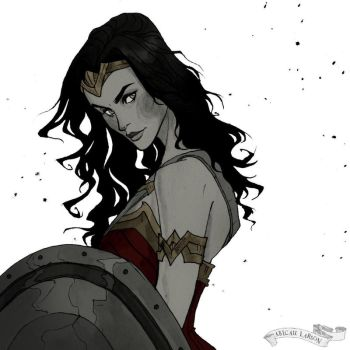 Wonder Woman by AbigailLarson