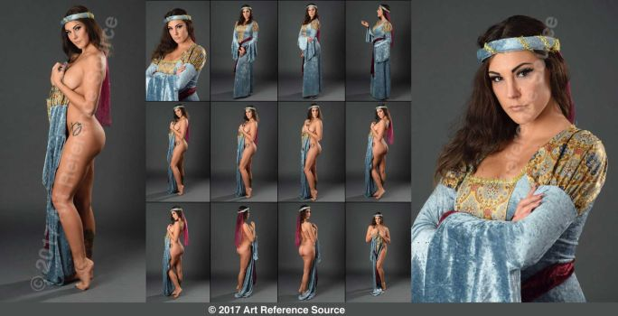 Stock:  Princess Becky Removes Her Robe by ArtReferenceSource