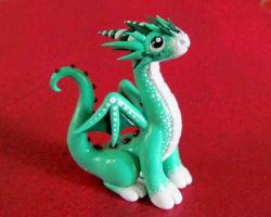 Spearmint Dragon by DragonsAndBeasties